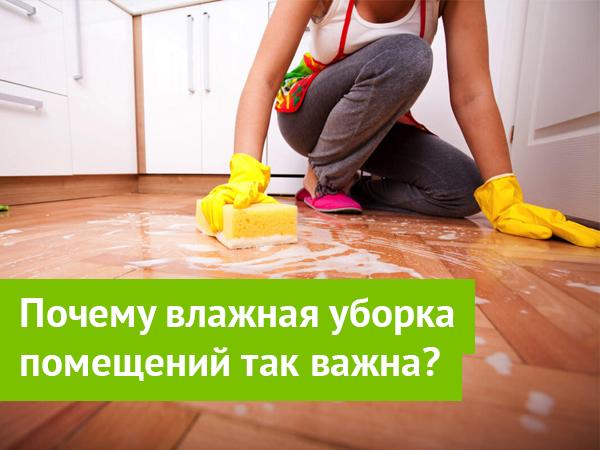 Влажная уборка помещений СПб